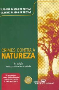 Capa do livro Crimes Contra a Natureza