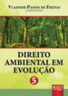 Capa do livro Direito Ambiental em Evolução