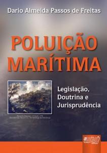 Capa do livro Poluição Marítima: Legislação, Doutrina e Jurisprudência